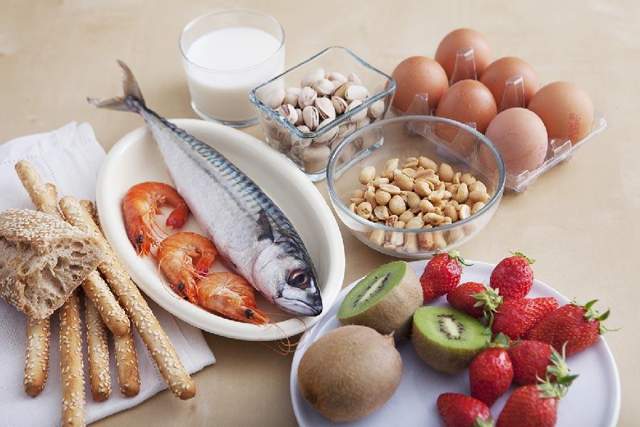 Najpogostejša živila, ki povzročijo prehranske alergije.